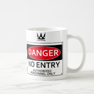 DANGER signboard Coffee Mug