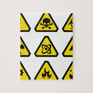 Danger signs jigsaw puzzle