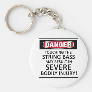 Danger String Bass Keychain