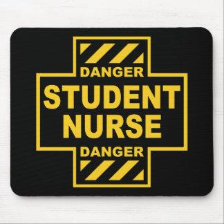 Danger Student Nurse Mouse Pad