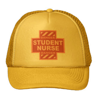 Danger Student Nurse! -pink Trucker Hat