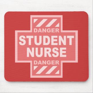 Danger Student Nurse! -pink Mouse Pad