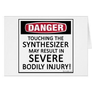 Danger Synthesizer Card