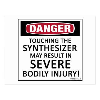 Danger Synthesizer Postcard