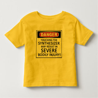 Danger Synthesizer Toddler T-shirt