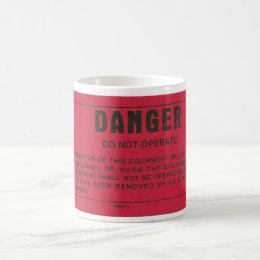 Danger Tag Coffee Mug