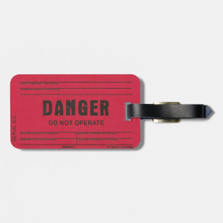 Danger Tag Luggage Tag