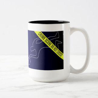 DANGER -Touching this mug may result in injury