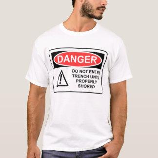 DANGER Trench T-Shirt