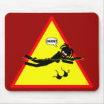 Danger Triangles Mousepads