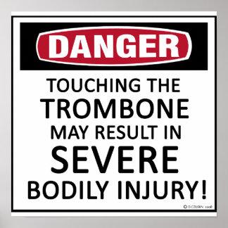 Danger Trombone Poster