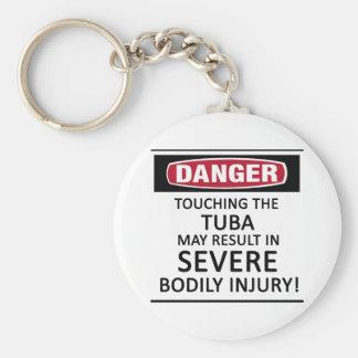 Danger Tuba Keychain