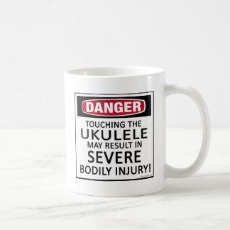 Danger Ukulele Coffee Mug
