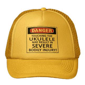 Danger Ukulele Trucker Hat