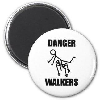 DANGER WALKERS MAGNET