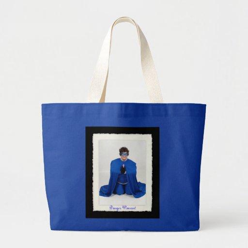 Danger Woman Tote Bag