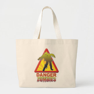 Danger Zombies Canvas Bags