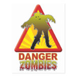 Danger Zombies! Post Card