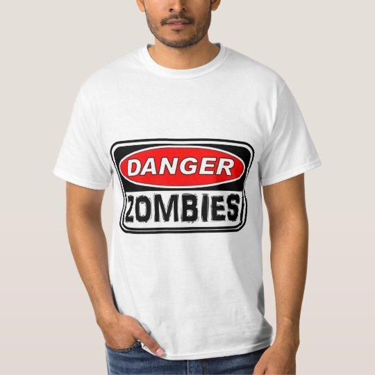 Danger: Zombies T-Shirt