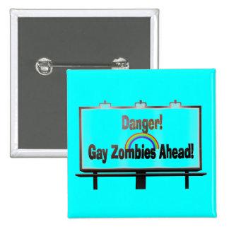 Danger Zone Pinback Buttons