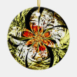Danger Zone Double-Sided Ceramic Round Christmas Ornament