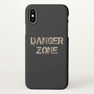 Danger zone iPhone x case