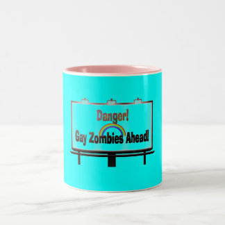 Danger Zone Two-Tone Coffee Mug