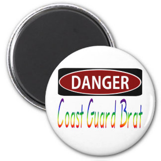 Dangercoast Guard Brat Magnet