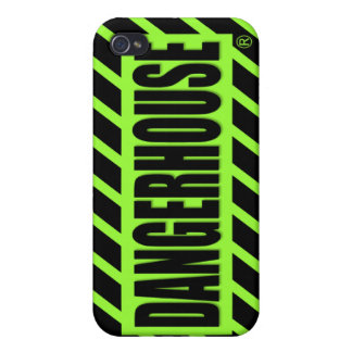 Dangerhouse Records iPhone 4 Case v.1