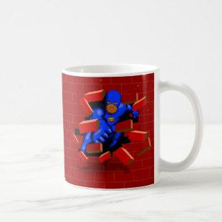 Dangerman Brickwall Crash Mug