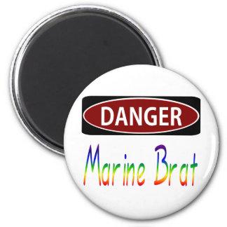 Dangermarinebrat Magnet