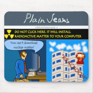 Dangerous Advetising Mouse Pad