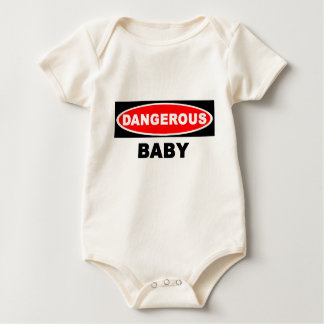 Dangerous BABY Baby Bodysuit