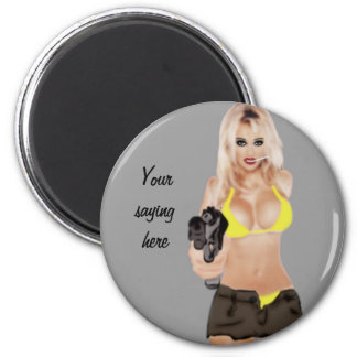 Dangerous Blonde - Femme Fatale Magnet