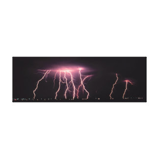 Dangerous Bolt Canvas Print