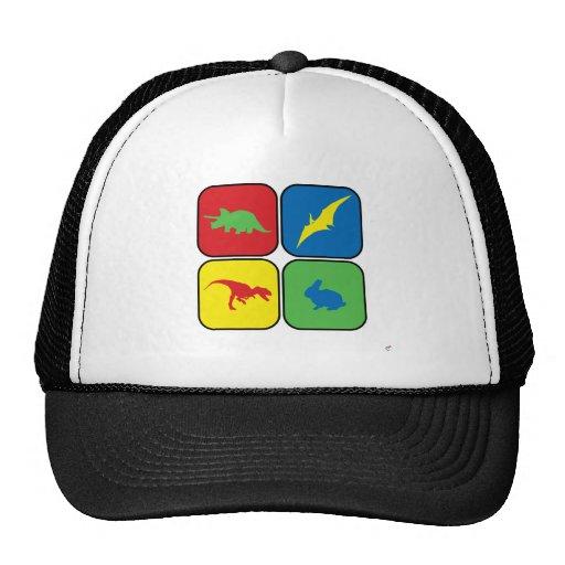 Dangerous Creatures Pop Art Trucker Hat