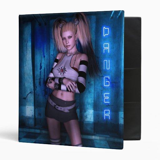 Dangerous Curves Gothic Girls™ Fantasy Pinup Vinyl Binders