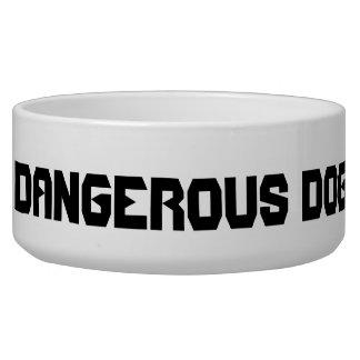 Dangerous Dog Pet Bowl