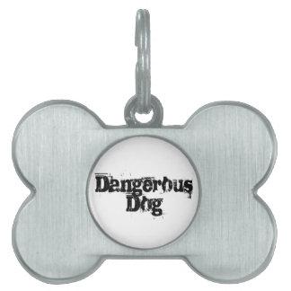 Dangerous Dog Pet Tag