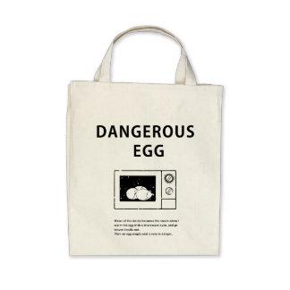 Dangerous Egg Tote Bag