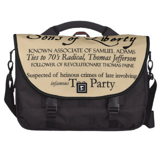 Dangerous Extremist: 18th Century Style Poster Laptop Bag