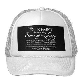 Dangerous Extremist: 18th Century Style Poster Trucker Hat