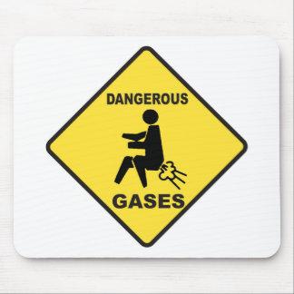Dangerous Gases Mouse Pad