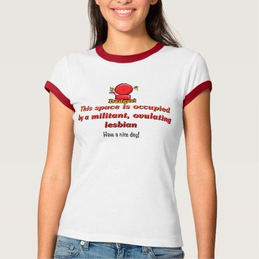 Dangerous Lesbian Shirts