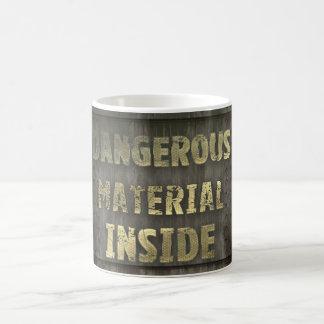 Dangerous Materials Inside Mug