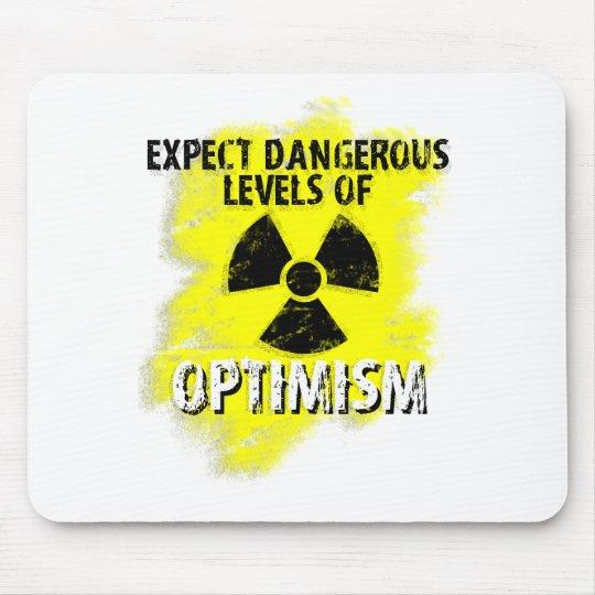 dangerous Optimism Mouse Pad