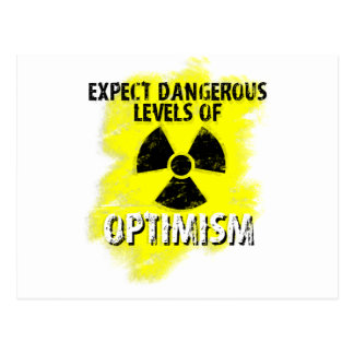 dangerous Optimism Postcard