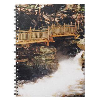 Dangerous Path Spiral Notebook