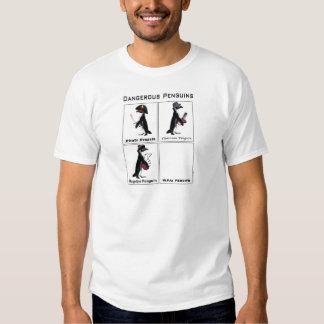 dangerous penguins t shirt