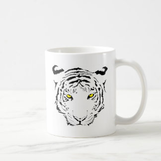 Dangerous, scary yellow eyes Tiger Coffee Mug